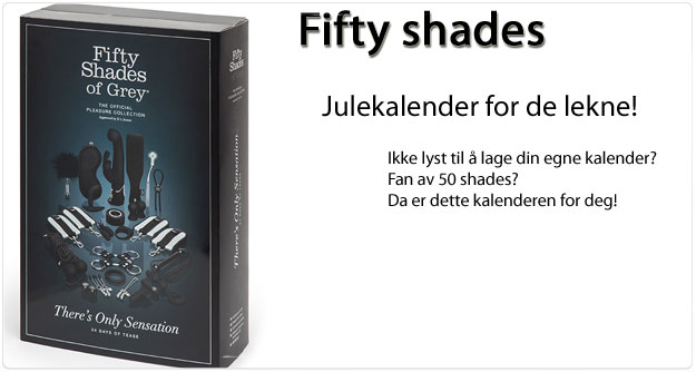 Fifty shades julekalender