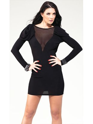 Kjoler - Forplay - Bronson black mini dress