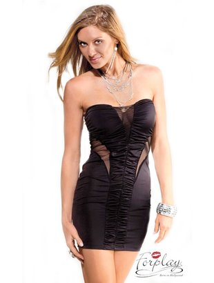 Sunset tube dress - black Bilde2