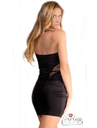Sunset tube dress - black Bilde1