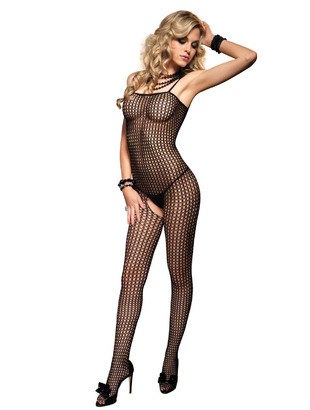 bodystocking - Bodystocking with opening