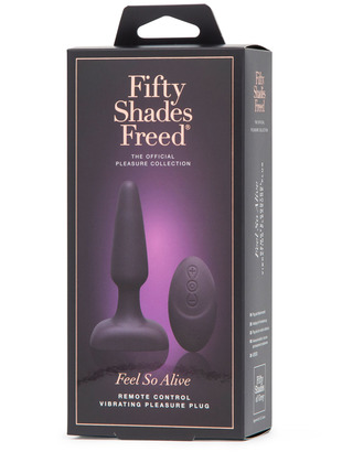 Fifty shades freed: Feel alive plugg Bilde7