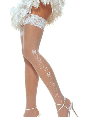 Wedding bell stockings