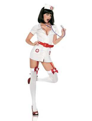 Diverse kostymer - 5Pc naughty nurse