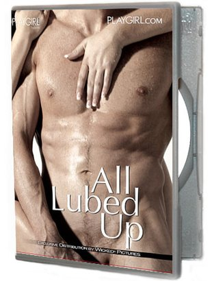 All lubed up (Playgirl)