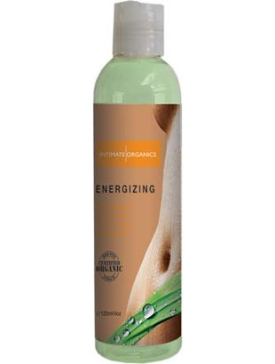 Energizing massage oil